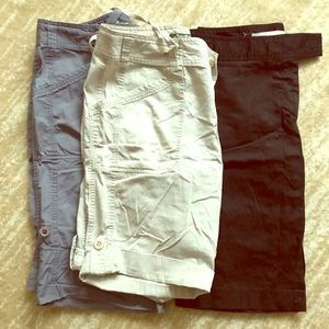 EDDIE BAUER Capri/Cargo Shorts